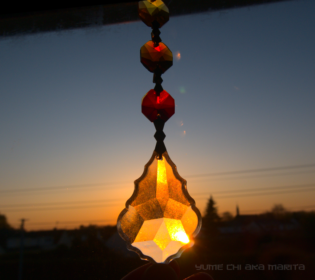 Sunset crystal